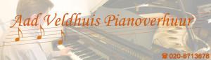 aad veldhuis piano verhuur
